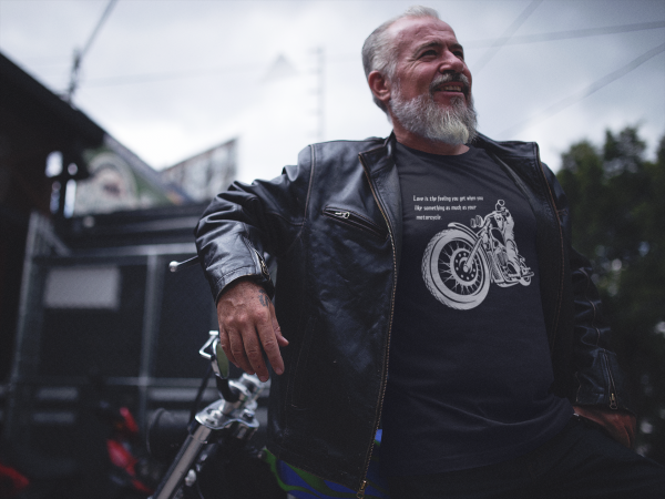 Motorbiker Birthday T-Shirt - Motorbike Rider Gift for birthday, BIRTH YEAR TSHIRT